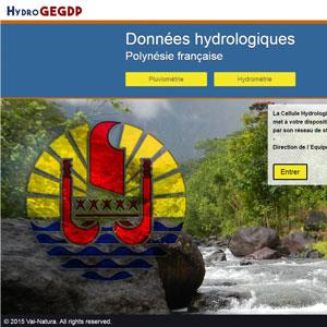 Plateforme de données hydrologiques